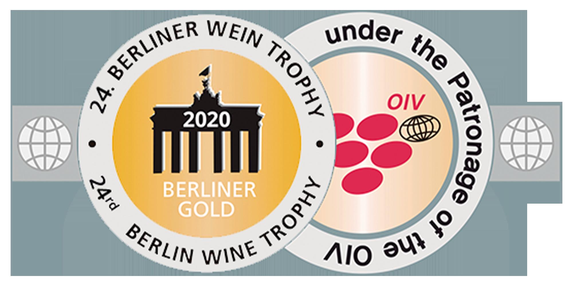 Berliner Wein Trophy 2020 - Ouro