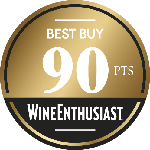 Wine Enthusiast - Best Buy 90 pts