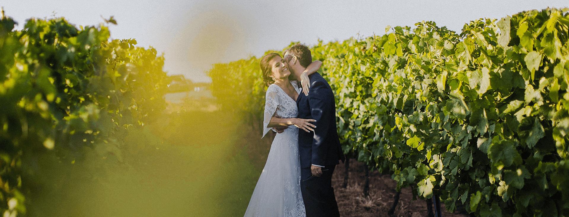Wedding - Bride and Groom - Quinta do Gradil Vineyard