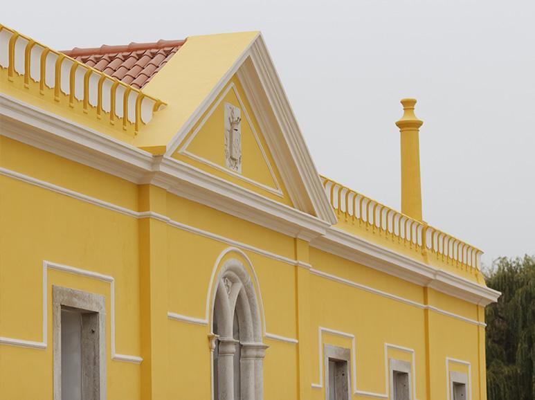 Palácio Amarelo - Quinta do Gradil