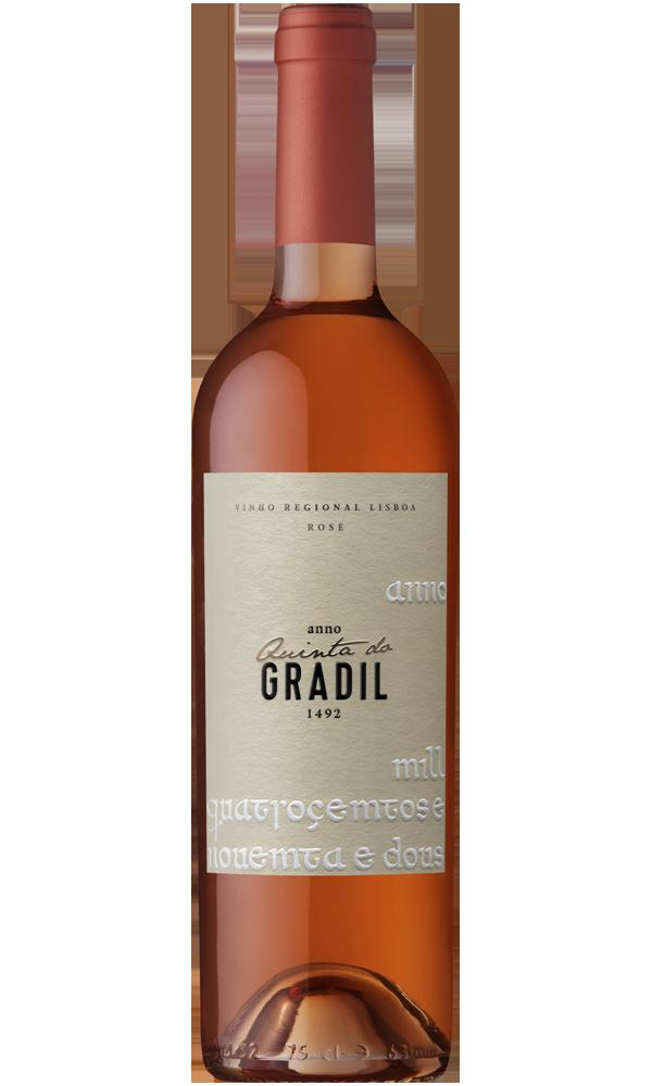 Quinta do Gradil 1492 vinho rosé