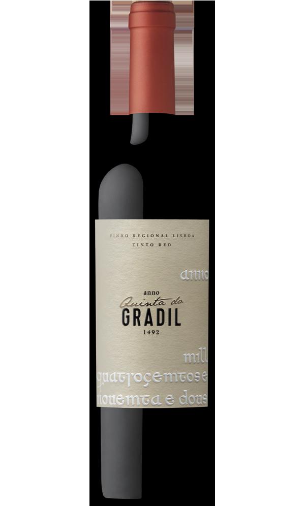 Quinta do Gradil 1492 vinho tinto
