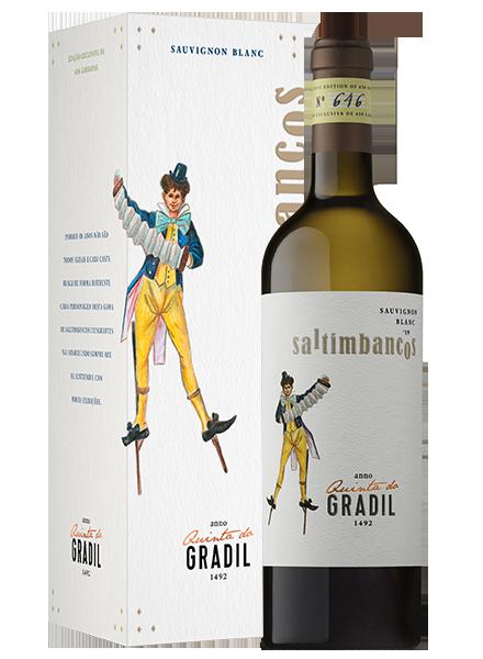 Quinta do Gradil Vinho Branco Saltimbancos Sauvignon Blanc 2