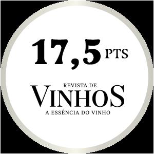 17,5 pts Revista de Vinhos 0