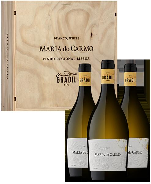 Pack Vinho Branco Quinta do Gradil Maria do Carmo