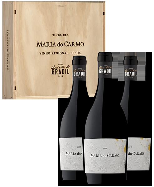 Pack Vinho Tinto Quinta do Gradil Maria do Carmo